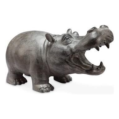 "SPI - Hippo Basso with Bluetooth Speaker - -Size: 12.5"" H x 21"" W x 10"" D"