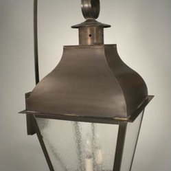 Shop Stanfield Antique Copper Two Light Outdoor Wall Light With Clear Seedy Glass Products On Houzz