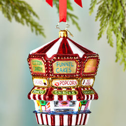 """Christopher Radko - Funnel Fun Christmas Ornament - Christopher RadkoFunnel Fun Christmas OrnamentDetailsMade of glass.Hand painted.5""""T.Made in Poland.Designer About Christopher RadkoFor more than 20 years Christopher Radko has been designing and producing handmade ornaments gifts and home decor for every special occasion and season that the calendar brings. His creations have become collectors' items favored gifts and keepsakes among those who give and receive them in celebration of life's milestones and memorable occasions."""