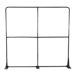 Milan Garment Rack, Charcoal - This sturdy two level commercial grade garment rack gives you over 24 linear feet of hanging space.
