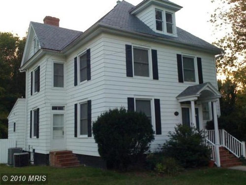 1890 colonial color update for Updated colonial home exterior