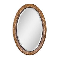 Uttermost - Uttermost 07602 Capiz Oval Vanity Mirror - Uttermost 07602 Capiz Oval Vanity Mirror