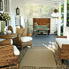Eclectic Porch by The Blue Moon Trading Company