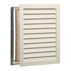 Premier Wood Air Return Grille - Perfect for air exhaust and ventilation, this primed Premier Wood Air Return Grille has an innovative design and can be painted to match your trim or wall color. Fits most standard openings with little or no wall modifications.
