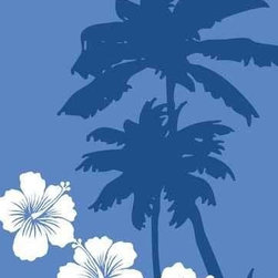 Wallmonkeys Wall Decals - Palm Wall Mural - 36 Inches H - Easy to apply - simply peel and stick!