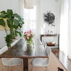 Contemporary Dining Room by Sara Essex Bradley Photography
