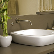 Modern Bathroom by Greene Designs LLC