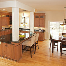 Traditional Kitchen by Transforming Architecture LLC