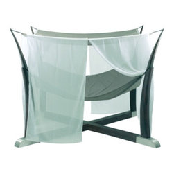Royal Botania Kokoon Hammock - I love how Royal Botania takes something simple like a hammock and turns it into the ultimate elegance and luxury. This hammock would be heaven any day of the week. Makes me want to skip work and relax.