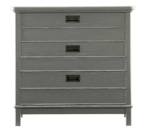 Stanley Furniture - Coastal Living Resort-Cape Comber Bachelor's Chest - We can't help but wonder, did unmarried young ladies not require storage as well? No matter, our Cape Comber Bachelor's Chest will not discriminate between the sexes when it comes to bedside storage. Actually, it won't mind if you use it somewhere other than the bedside either. It's three drawer design, featuring the nautical simplicity of cottage pulls, could fit in just about any room of the house. You may find it hard to decide where to place this little gem.