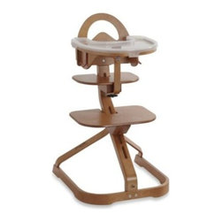 Svan - Svan Signet Essential High Chair- Cherry - Let your little one enjoy family meals with the rest of the family! This award-winning Scandinavian-designed bentwood high chair grows with your child from infant to young adult.