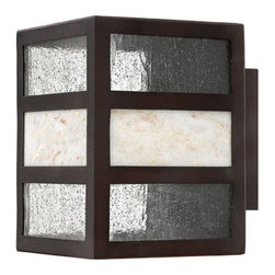 Hinkley Lighting - Hinkley Lighting 1450SB Sierra Spanish Bronze Outdoor Wall Sconce - Hinkley Lighting 1450SB Sierra Spanish Bronze Outdoor Wall Sconce