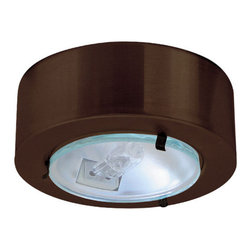 Elco - Elco E228 Mini Downlight with Clear Glass Lens - Mini Downlight with Clear Glass LensElco's Surface Mount Mini downlights are an excellent source wherever a small powerful light is needed. The Mini lights may be recessed mounted. They can be dimmed with a low voltage electronic dimmer. They can also be used with remote transformers. Elco has designed a wide variety of trims to go with the mini downlights.Features: