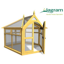 Traditional Greenhouses by www.jardin-deco.com