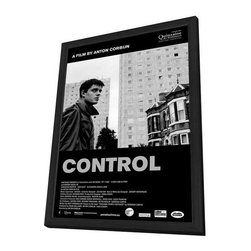Control 27 x 40 Movie Poster - Belgian Style B - in Deluxe Wood Frame - Control 27 x 40 Movie Poster - Belgian Style B - in Deluxe Wood Frame.  Amazing movie poster, comes ready to hang, 27 x 40 inches poster size, and 29 x 42 inches in total size framed. Cast: Alexandra Maria Lara