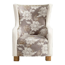 Cyan Design - Cyan Design 05560 J.P. Buttercup Transitional Accent Chair - Cyan Design 05560 J.P. Buttercup Transitional Accent Chair