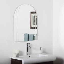Decor Wonderland - Serina Modern Bathroom Wall Mirror - 24W x 32H in. Multicolor - SSM1130 - Shop for Bathroom Mirrors from Hayneedle.com! The elegantly styled Serina Modern Bathroom Wall Mirror - 24W x 32H in. is a vision. It features a beautifully curved form and a distinctive surface accented by V-grooves and rounded details for a textured visual presentation that far outshines any traditional beveled edge. Best of all it's perfect not only for the bathroom but can elevate the look of any foyer hallway or living room as well! This mirror hangs vertically only and includes easy-to-use mounting hardware for near-effortless installation.About Decor Wonderland of USDecor Wonderland US sells a variety of living room and bedroom furniture mirrors lamps home office necessities and decorative accessories. Decor Wonderland strives to add variety to their selection so that every home is beautifully and perfectly decorated to suit their customer's unique tastes.