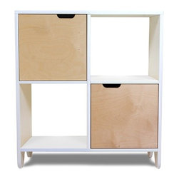 Spot on Square - Spot on Square | Hiya Bookshelf, Birch - Design by Spot On Square.