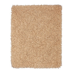 Anji Mountain - Anji Mountain Silky Shag Beige Silky Shag Rug - Beige Silky Shag Rug belongs to Silky Shag Collection by Anji Mountain Softer and silkier than traditional shag rugs made from wool or synthetic fibers. Uniquely luxuriant look and feel due to custom specified blended yarn (50% rayon made from bamboo, 50% cotton). Rug (1)