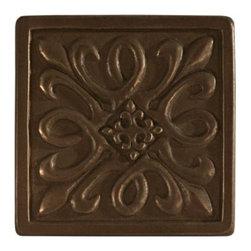 Metallic Bronze Resin Decorative Insert -