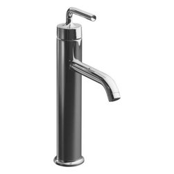 """Kohler - Kohler K-14404-4A-CP Polished Chrome Purist Purist Single Hole - Product Features:Fully covered under Kohler s limited lifetime faucet warrantyFaucet body constructed of solid brassKohler finishes resist corrosion and tarnishing - exceeding industry standards for durabilityPurist faucets combine simple, architectural forms with sensual design linesFeaturing modern, minimalist style that will complement any bathroom décorSmooth single handle operationTouch activated drain assembly includedLow lead compliant - meeting federal and state regulations for lead contentDesigned for use with standard U.S. plumbing connectionsWaterSense-labeled product - uses at least 30% less water than standard 2.2 GPM faucets, while still meeting strict performance guidelinesFeatures and extra-secure mounting assemblyAll hardware needed for mounting is includedProduct Technologies / Benefits:WaterSense/Eco-Performance: To help make a difference on a global scale and further its role as industry leaders in eco-performance practices, Kohler has established partnerships with a number of environmental organizations, including WaterSense. Many Kohler faucets are equipped with low-flow aerators; meaning they use less water, while continuing to meet superior performance standards. Product Specifications:Overall Height: 12"""" (measured from the counter top to the highest part of the faucet)Spout Height: 6-1/2"""" (measured from the counter top to the spout s outlet)Spout Reach: 6-1/4"""" (measured from the center of the faucet base to the center of the spout s outlet)Faucet mounts in a single hole configurationNumber of Holes Required for Installation: 1Flow Rate: 1.5 GPM (gallons-per-minute)Maximum Thickness of Mounting Deck: 2-1/4""""1 handle included with faucet"""