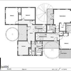 floor plan Houzz Tour: Family Complex in the Trees