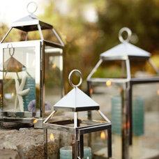 Malta Lanterns - Silver Finish