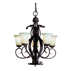 High Country Outdoor Chandelier