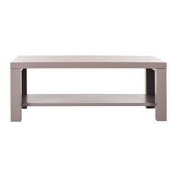 Lahoma Coffee Table - I love this table. It's classic and super affordable.