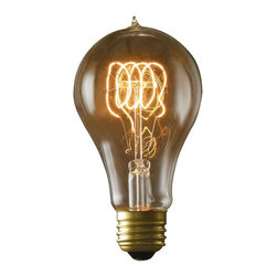 Bulbrite - Bulbrite Victorian Loop Filament A21 Incandescent Edison Light Bulb - 4 pk. Mult - Shop for Light bulbs from Hayneedle.com! What's old is new again with the Bulbrite Victorian Loop Filament A21 Incandescent Edison Light Bulb - 4 pk.. The perfect choice for your antique-style fixtures open designs or just when you want a little extra something. They're an excellent replica of antique lights and you'll love the modern convenience. Available in your choice of wattage.About BulbriteBulbrite is a family-owned company started in 1971 and based in Moonachie New Jersey. Bulbrite is renowned for their commitment to innovation education and service. They are a leading manufacturer and supplier of innovative energy-efficient light source solutions. Bulbrite is an award-winning company. Most recently their president Cathy Choi received the 2010 Residential Lighting Industry Leadership Award and the Bulbrite Swytch LED Desk Lamp received the 2010 Home Furnishing News Award of Excellence. They have introduced award-winning products and offer an extensive line of light bulbs including LEDs HID compact fluorescents fluorescents halogens krypton/xenon incandescent bulbs and specialty lamps. Bulbrite is an active member of the ZHAGA the American Lighting Association a silver sustaining member of the Illuminating Engineering Society of North American (IESNA) an Energy Star Partner a Lighting Facts LED Product Partner a member of LUMEN Coalition and a member of the International Dark Sky Association.