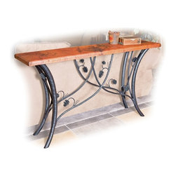 Piney Woods Console Table by Mathews & Co. - Dimensions: (length x width x height)