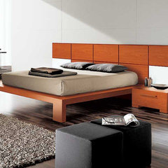 modern beds Wynd Platform Bed by Doimo