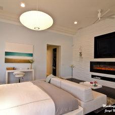 Modern Bedroom by Mackenzie Collier Interiors