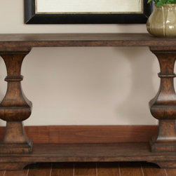 Liberty Furniture - Spanish Planked Sofa Table -