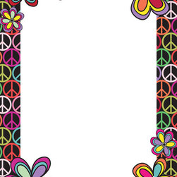 "WallPops - Peace Dry-Erase Board Wall Decal - Make a statement with this stylish peace sign dry-erase message board. This fun peel & stick wall decal gives you a place to express yourself and brings a great vibe to the walls. Peace Dry-Erase Boards are 13"" x 17.75"" and include a WallPops dry-erase marker. Peace Dry-Erase Boards are repositionable and totally removable."