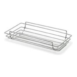 Blomus - WIRES Bread Basket by Blomus - The WIRES Bread Basket by Blomus is a contemporary necessity for any kitchen and is great for storage and display. Features a chrome finish.Blomus, headquartered in Germany, specializes in the design and manufacture of beautifully engineered home and office accessories in modern stainless steel styles.The WIRES Bread Basket by Blomus is available with the following:Details:Chrome finish Shipping:This item usually ships within 2-3 business days.Dimensions:Basket: Length 14 in., Width 7.5 in.