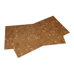 Forna - Formaldehyde Free Cork FloorTile 4mm Sand Marble color, 21.31 Sqft Per pkg. - All glue down tiles need two coats of a water based poly urethane once installed to maintain integrity of cork and seam all seals, and recommended glue WAKOL D3540