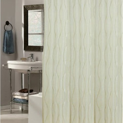 Other Brands - Carnation Home Fashions Ez On Grommet Bristol Ivory Fabric Shower Curtain Ivory - Shop for Shower Curtains from Hayneedle.com! Elegant ivory and easy to install the Carnation Home Fashions Ez On Grommet Bristol Ivory Fabric Shower Curtain dresses your bathroom in style. This shower curtain is made of water-repellent polyester material eliminating the need for a shower curtain liner. It features built-in PVC hooks that easily snap onto your curtain rod.Size Options:72L x 70W in.78L x 54W in.84L x 70W in.72L x 108W in.About Carnation Home FashionsYour home your style Carnation Home Fashions believes in this motto. That s why this home fashions company offers a wide range of on-trend and classic products designed for style and convenience. Perfect for matching today s busy lifestyles their bath products meet your needs in style. Carnation Home Fashions is based in Newburgh New York.