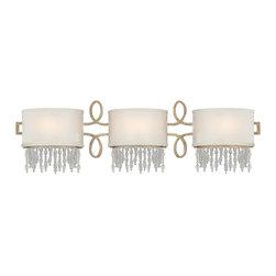 SAVOY HOUSE - Savoy House Palais 3 Light Vanity Light In Gold Dust 8-1055-3-122 - Savoy House Palais 3 Light Bathroom Bar Fixture in Gold Dust