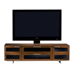 BDI - Avion II TV Stand, Quad Wide With cabinet - The Avion II TV Stand, Quad Wide by BDI Studio meets all the needs you would expect from a media center: hidden wheels, adjustable shelves, cable management, and more. Perfect features with a sleek and modern frame. Pick from 3 colors options.