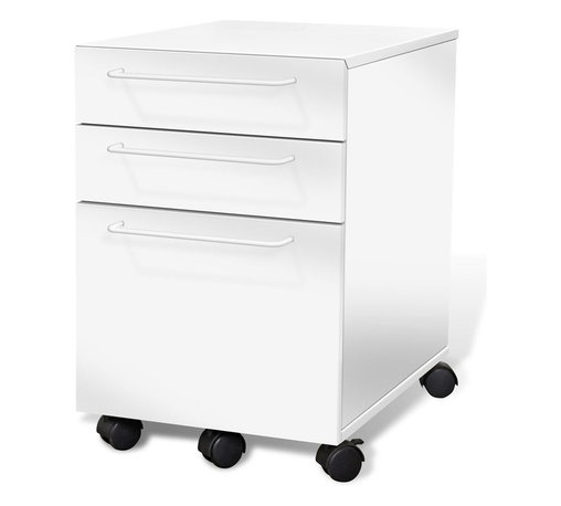 Jesper - Jesper - Tribeca Collection - 3 Drawer File Cabinet - White - Jesper Office specializes in making modular office furniture for the home and small business, along with a complementary line of modular library and home entertainment furniture. The company, originally based in Denmark, has been designing and manufacturing high quality furniture since 1935. Today, Jesper Office is based in Branchburg, New Jersey where it maintains a U.S warehouse and sales office along with several manufacturing facilities overseas.