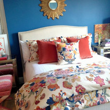 Eclectic Beds by Amanda Austin Interiors