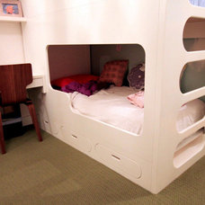 Modern Bunk Beds by NR Wood Design Corp