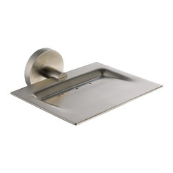 Kraus - Kraus KEA-12205BN Imperium Bathroom Accessories - Wall-mounted Brass Soap Dish - Kraus offers an elite selection of bathroom accessories that are guaranteed to exceed industry trends and revolutionize your home into the modern marvel it is destined to be
