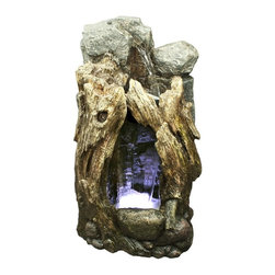 Alpine - Rain Forest Waterfall Edition with LED lights - 30 inch - Features: