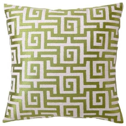 Mediterranean Decorative Pillows by Zinc Door