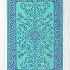Floral Indoor-Outdoor Rug - This outdoor rug has a gypsy flair that's perfect for your patio or a high-traffic area in your home.