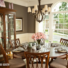 Traditional Dining Room by Furnitureland South