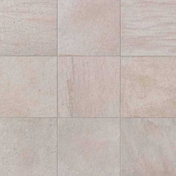 """Unicomstarker - Quarzite White 6"""" x 6"""" - This Italian porcelain line from UnicomStarker replicates quartzite stone with liveliness and splendor. Highly influenced by light, the quartzite line's products turn floors into pure emotion."""