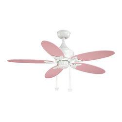 "Vaxcel Lighting - Vaxcel Lighting FN44322W Alice 44"" 5 Blade Indoor Ceiling Fan with Reversible Mo - Features:"